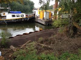 Houtdok Gent: Argex als lichte aanvulling achter een kaaimuur
