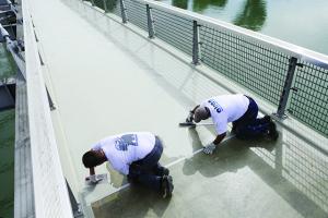 ALSAN: vloeibare waterdichting voor parkings, balkons en terrassen